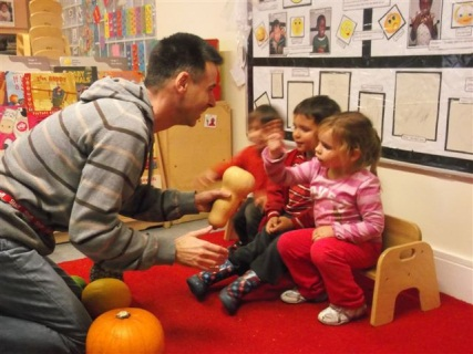 Richard at LEYF's Furze Children's Centre Nursery
