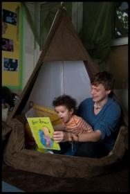 Conor at LEYF's Katharine Bruce Community Nursery